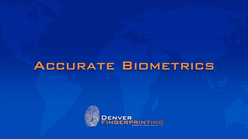 Accurate Biometrics Hard Card Scan