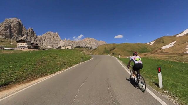 Virtual Cycle Rides - Italian Dolomites - Spectacular Bike Rides Through Dramatic Mountain Landscapes