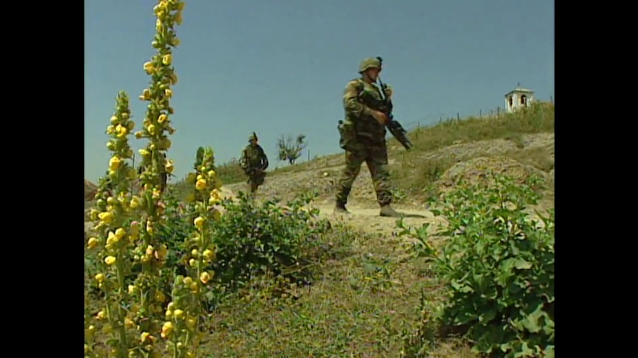 Kosovo 2001- US forces and KFOR