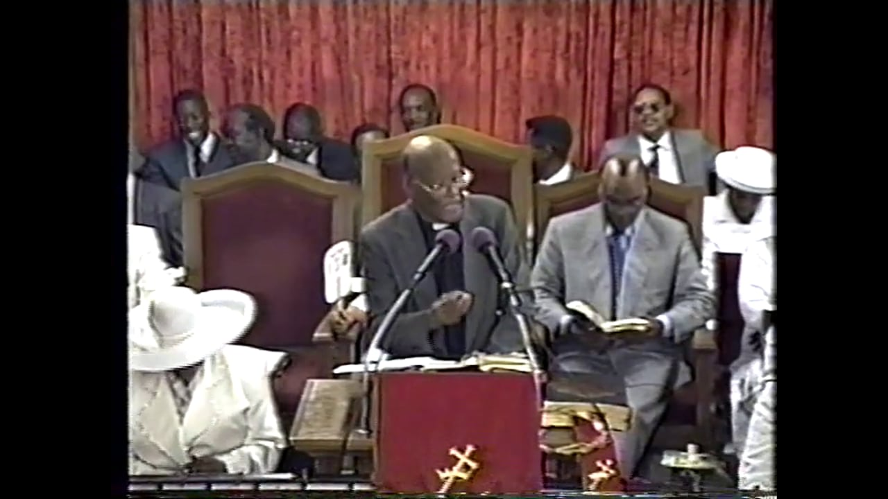 09-15-95, Bishop Saunders Sr, The Church & Worship