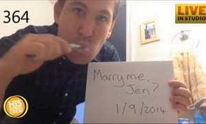 Man Proposes Every Day for a Year
