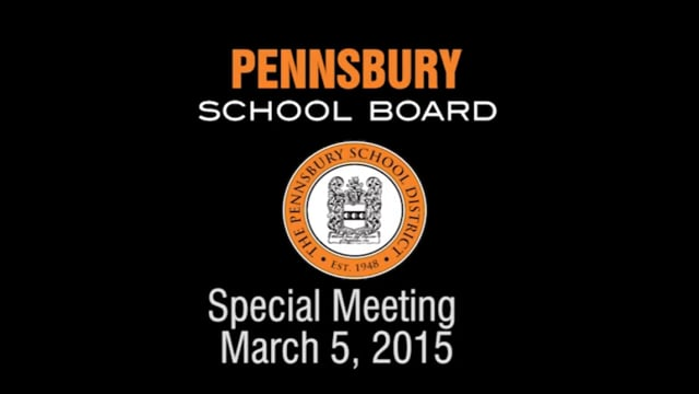 Pennsbury School Board Meeting for March 5, 2014