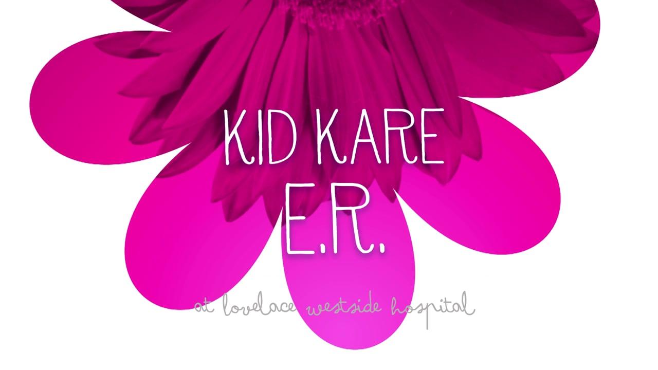 Kid Friendly ER - Table :15