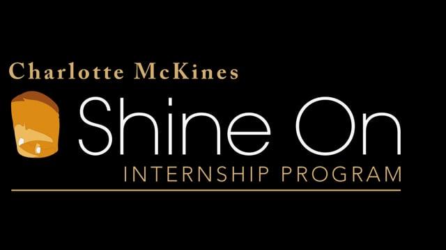 Omnicom - Charlotte McKines Shine On Internship Program