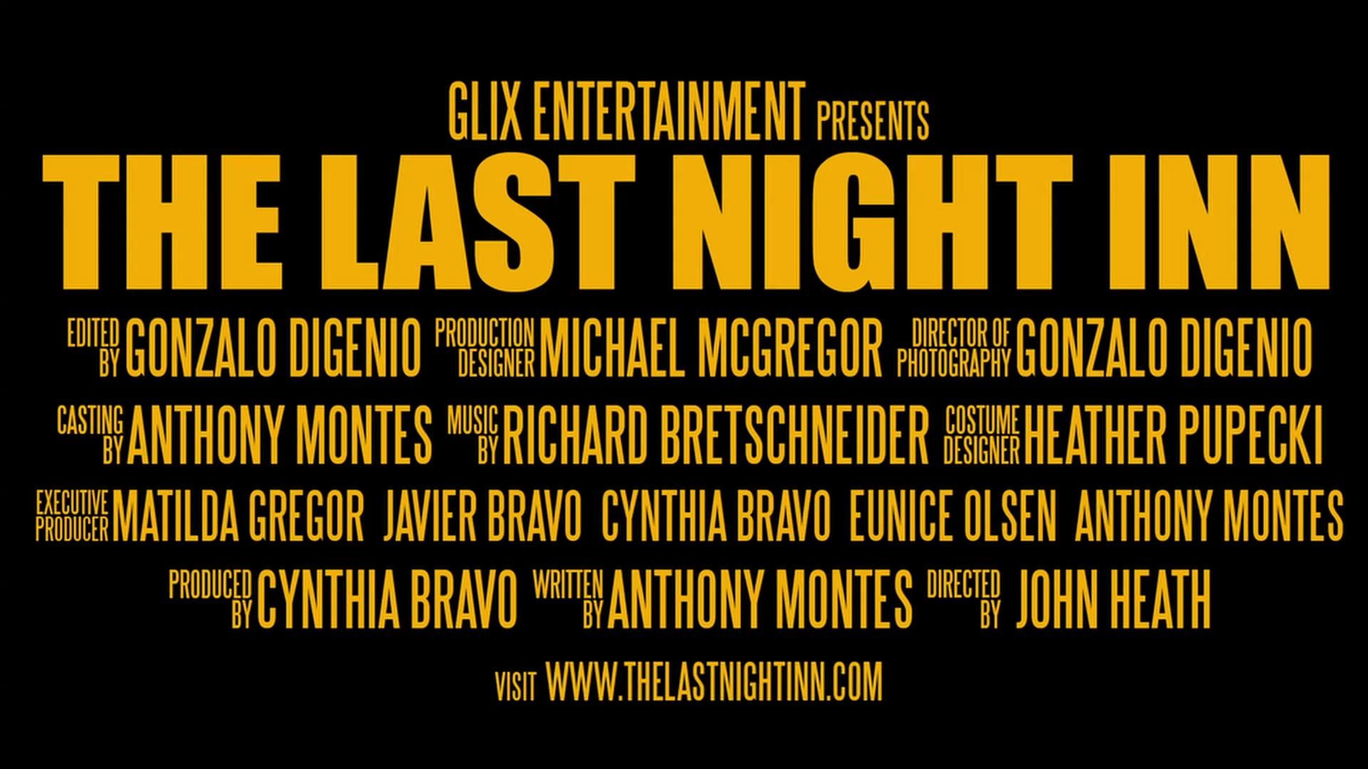 """The Last Night Inn"" Trailer"