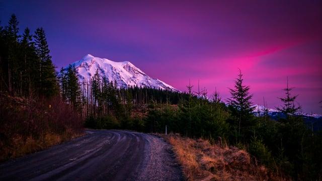 Film in 4k  Mount Rainier National Park - trailer