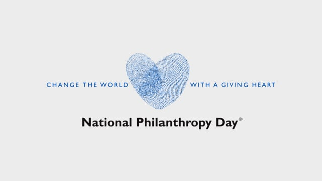 Change the World with a Giving Heart | NPD 2015, Association of Fund Raising Professionals