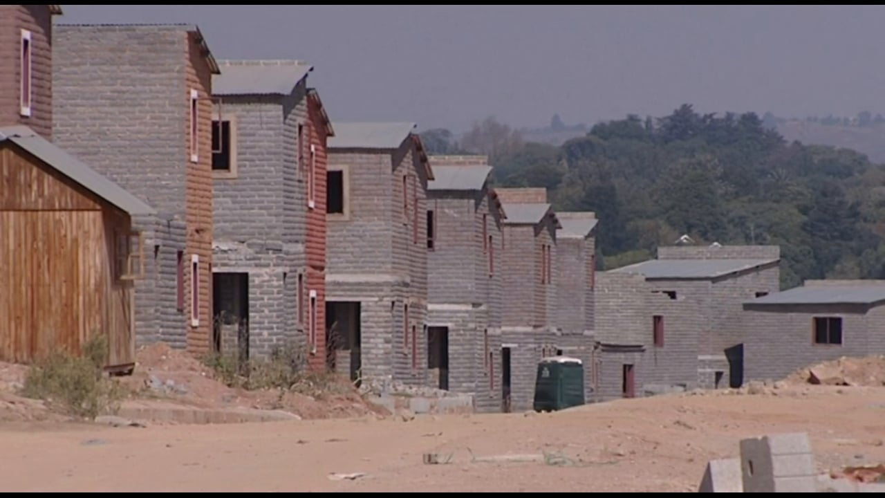 South Africa 2009 - Elections: Delivering Homes