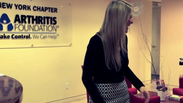 Arthritis Foundation Interview Video