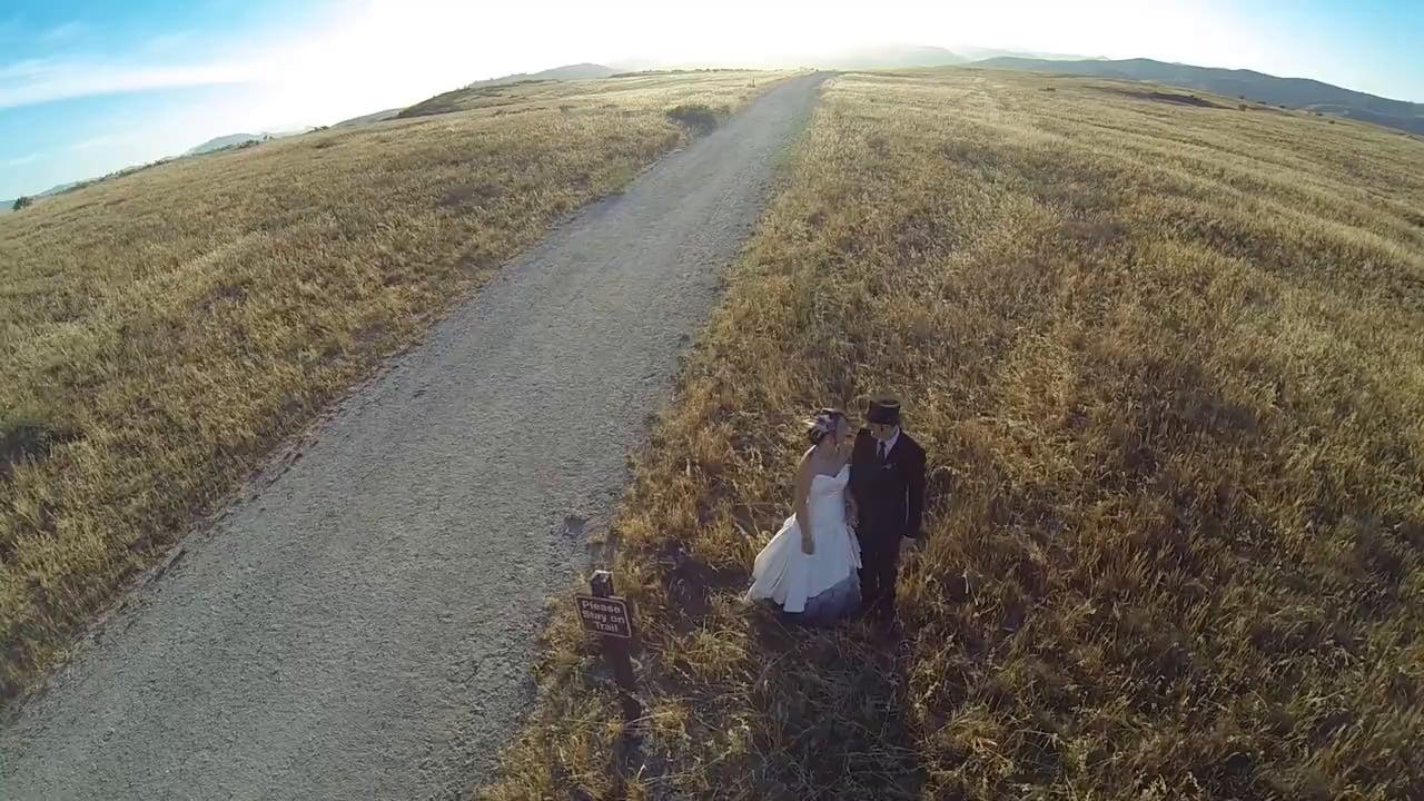 """Jo + Micah's Unique """"Traveling Gypsy Carnival"""" Wedding ~ Diablo Dormido at Upper Las Virgenes Preserve"""