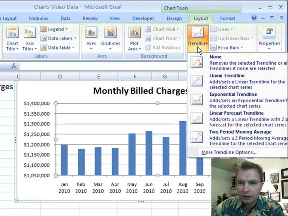 Excel Video 100 Trendlines