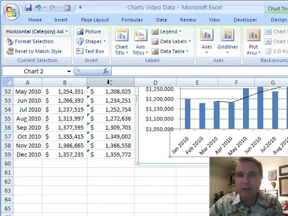 Excel Video 104 Moving Averages