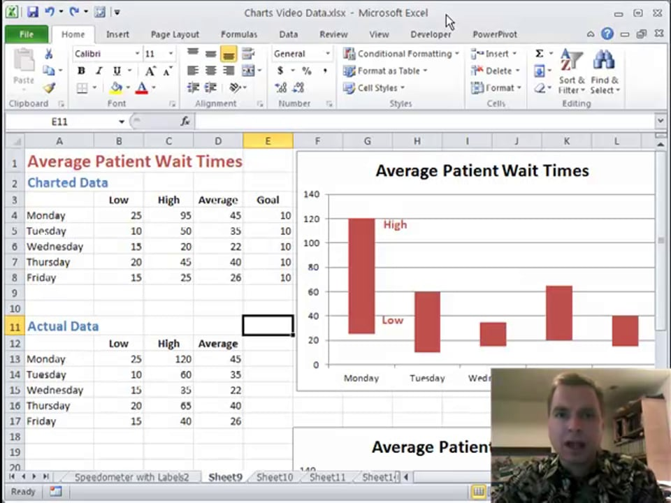 Excel Video 122 Floating Columns