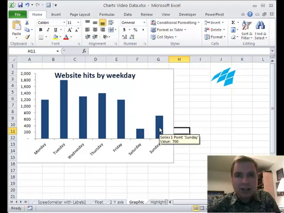 Excel Video 125 Filling Column Charts With Pictures