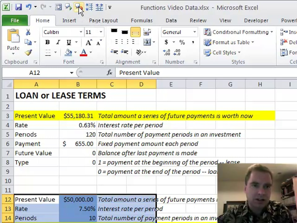 Excel Video 144 Text to Speech for April Fools