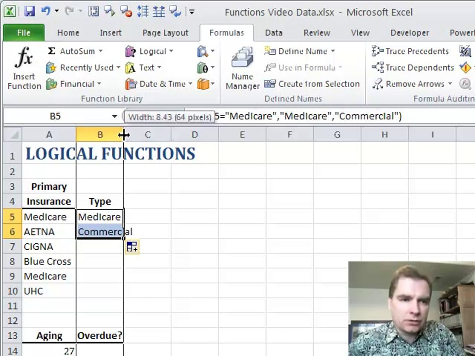 Excel Video 146 IF