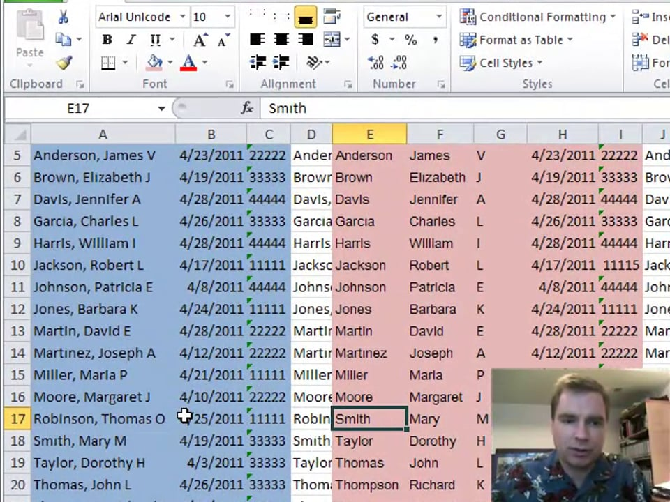 Excel Video 153 EXACT