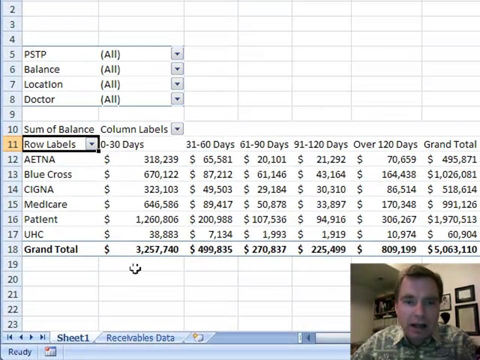 Excel Video 15 Refreshing Pivot Table Data
