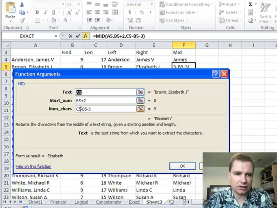 Excel Video 157 MID
