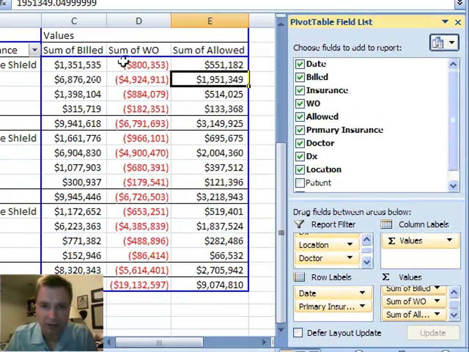 Excel Video 16 Pivot Table Calculated Fields