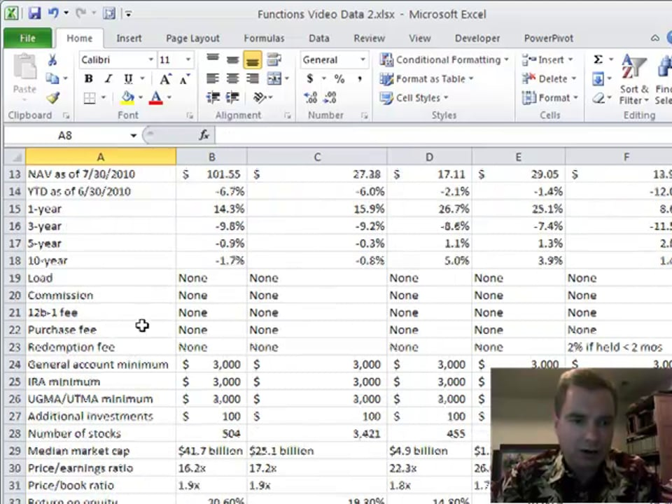 Excel Video 173 VLOOKUP Review