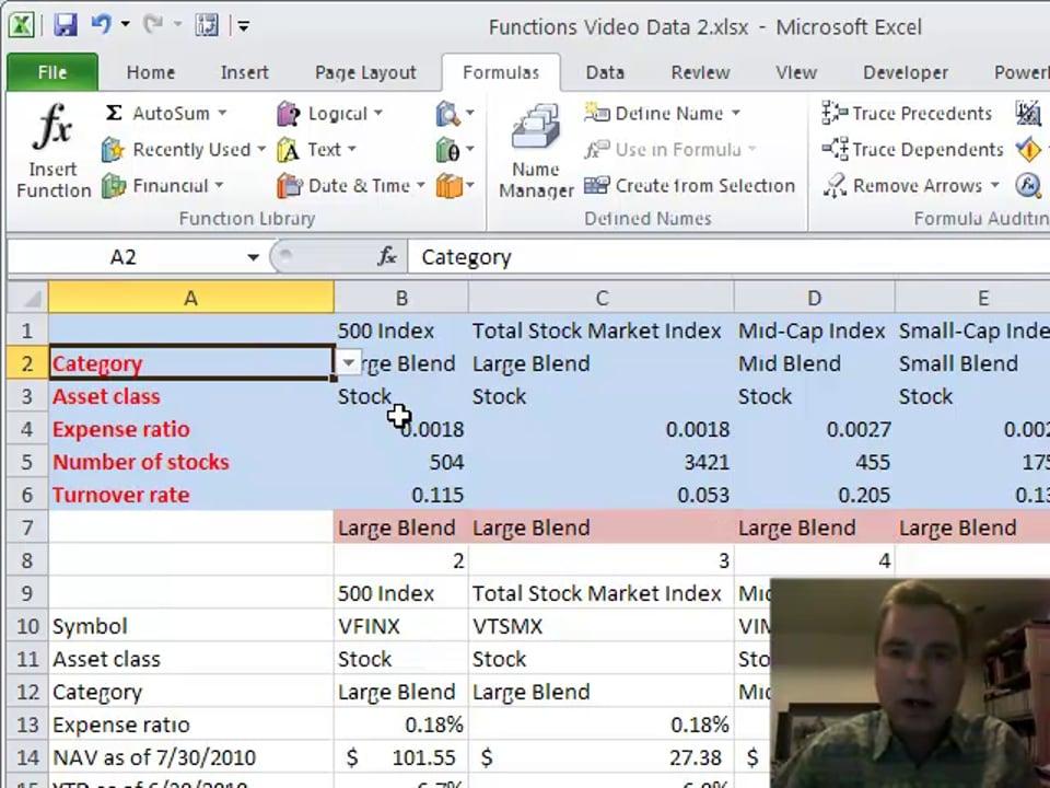 Excel Video 174 COLUMN with VLOOKUP