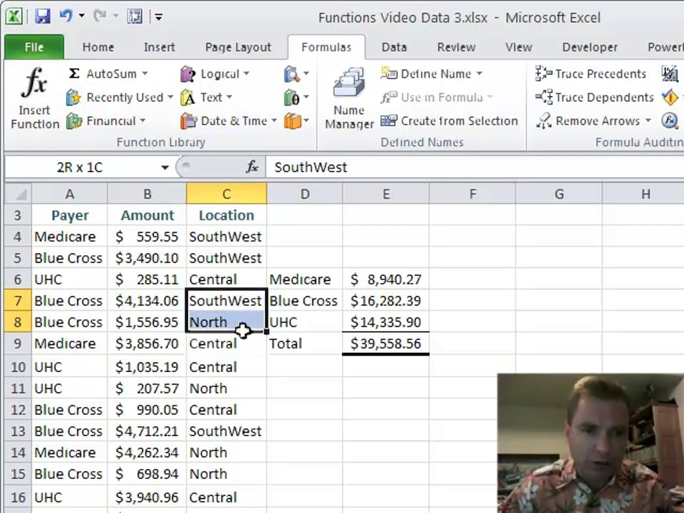 Excel Video 184 SUMIF