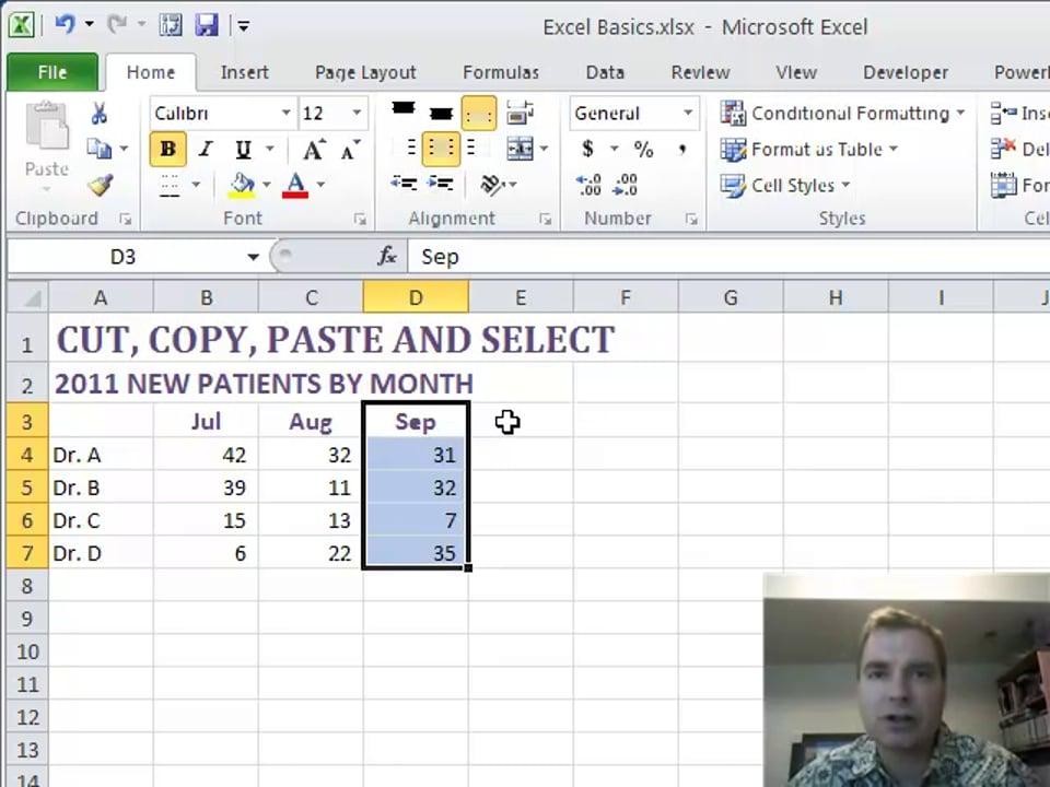 Excel Video 203 CUT