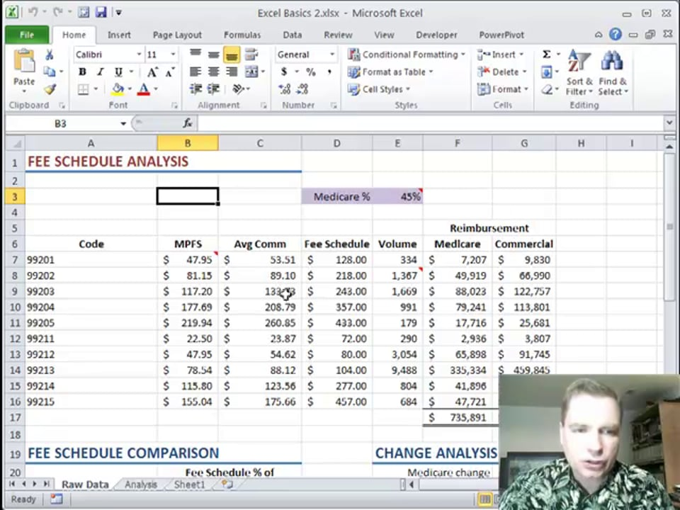 Excel Video 244 Freeze Panes