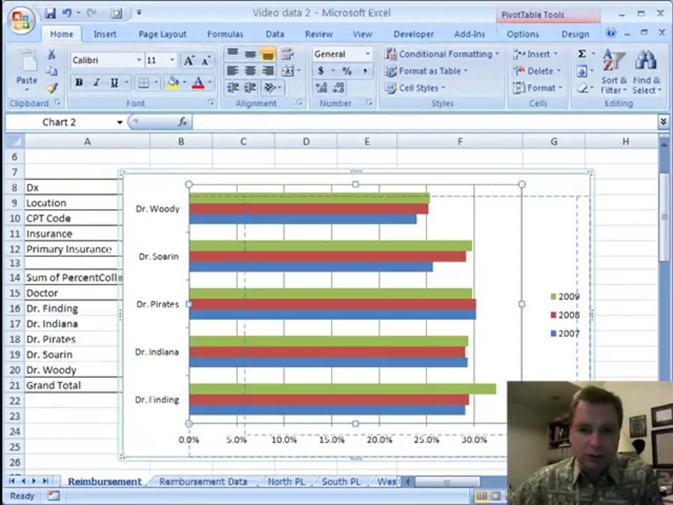 Excel Video 29 Quick Pivot Charts from Existing Pivot Tables