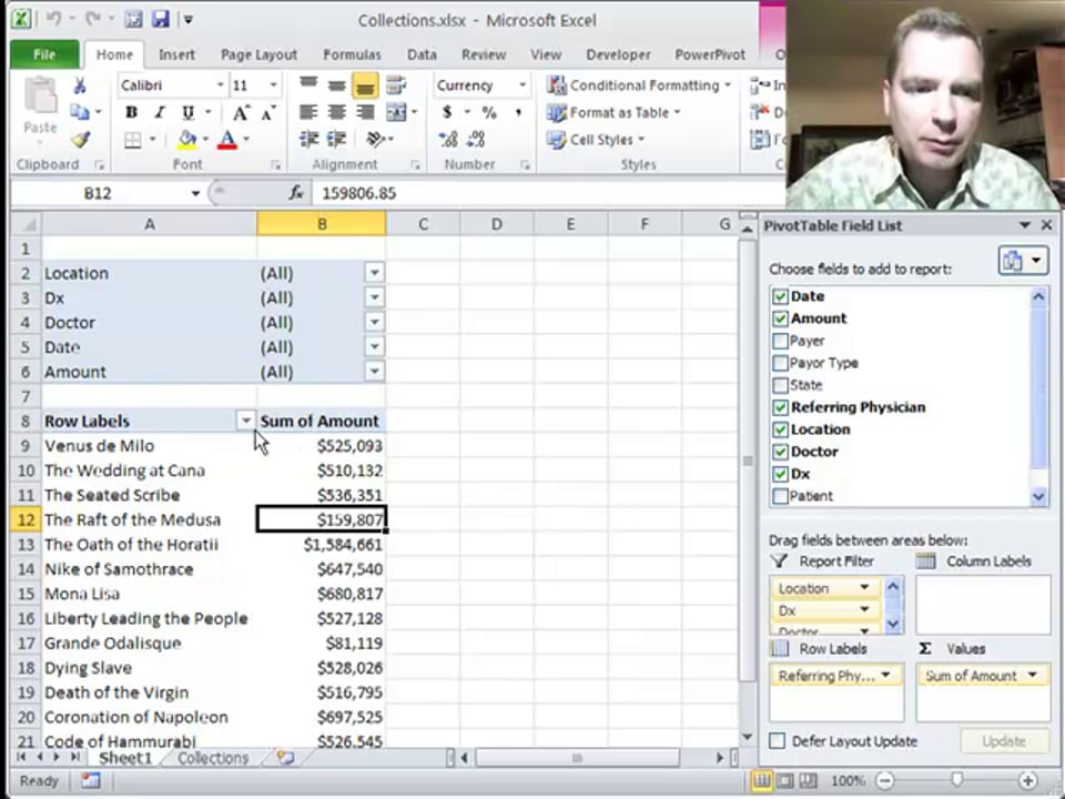 Excel Video 287 Value Filters