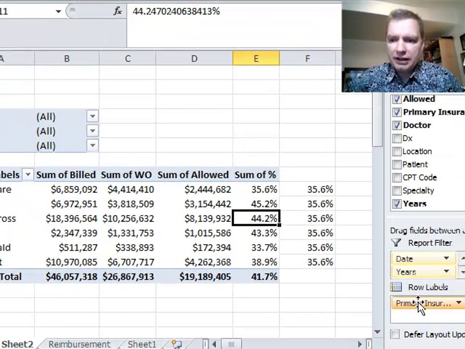 Excel Video 313 Calculated Fields in Pivot Tables Part 1