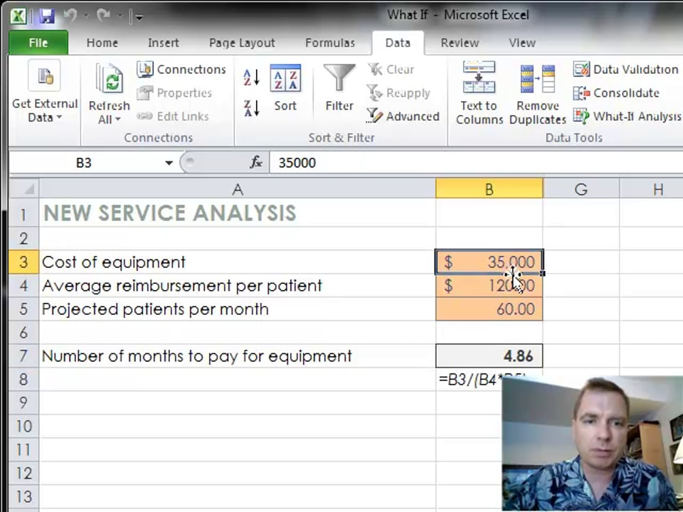 Excel Video 336 Solving for Min and Max