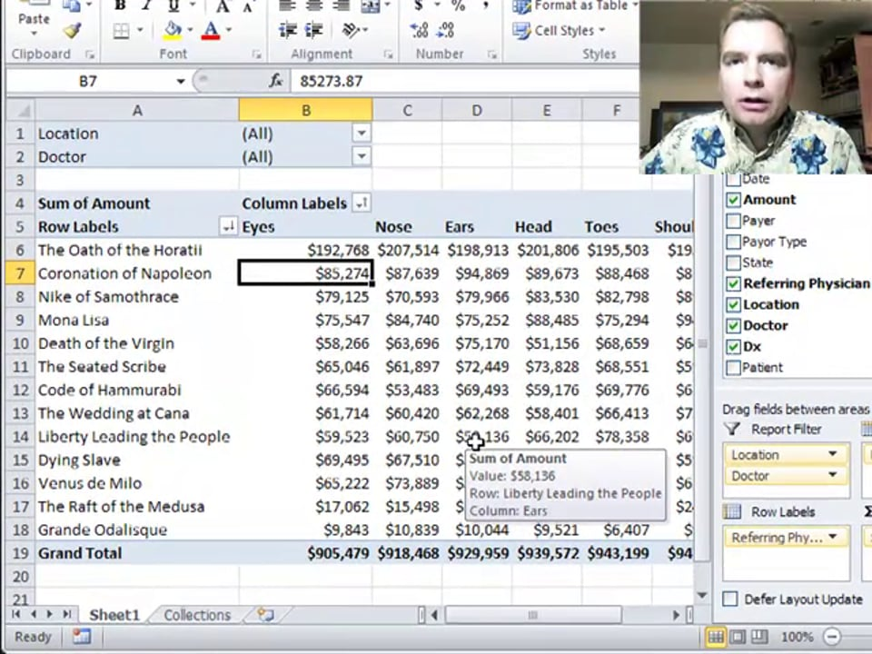 Excel Video 283 Manually Sorting Pivot Table Data