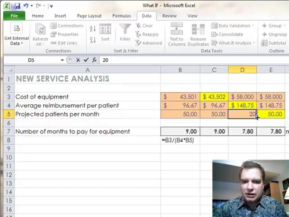 Excel Video 332 Goal Seek Part 2