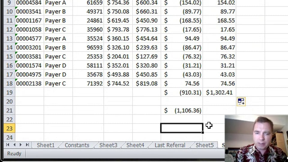 Excel Video 368 Using Arrays with ABS