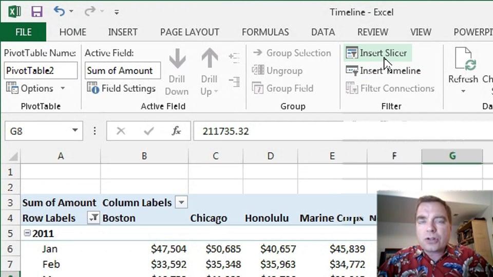 Excel Video 378 Timelines Part 1