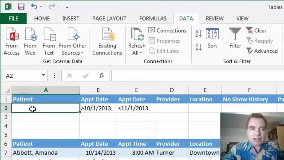Excel Video 391 Advanced Filtering Part 4