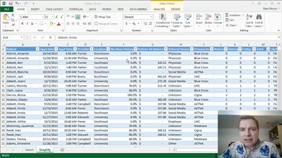 Excel Video 394 Another Approach to Advanced Filtering, Part 2