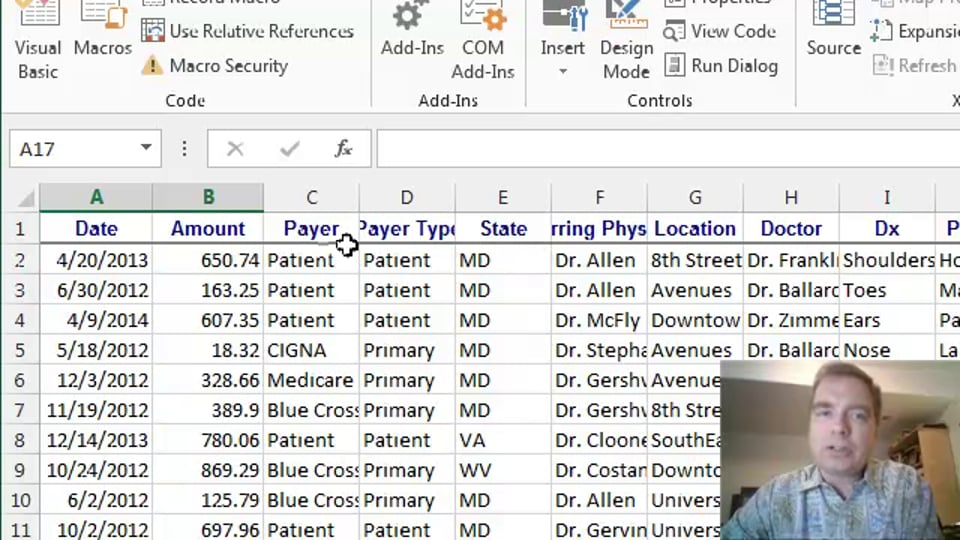 Excel Video 403 Getting Started with the Macro Recorder