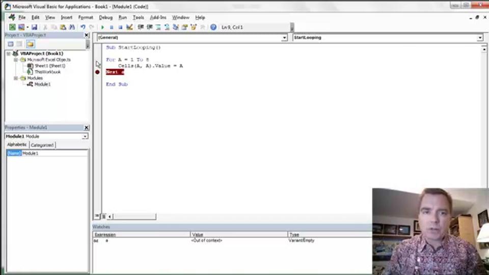 Excel Video 423 Introducing Loops