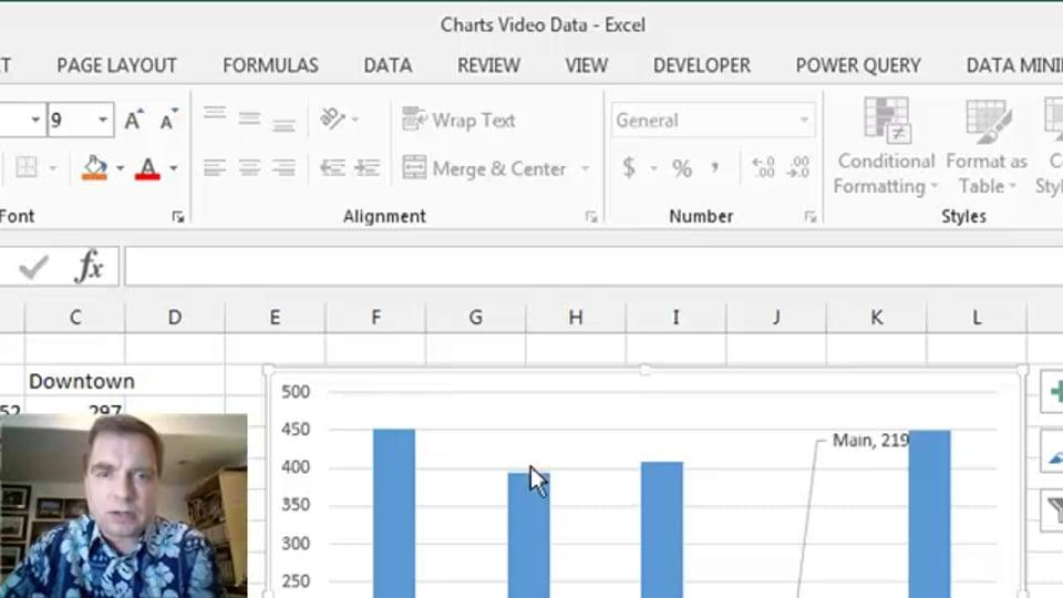 Excel Video 447 Data Labels Part 1