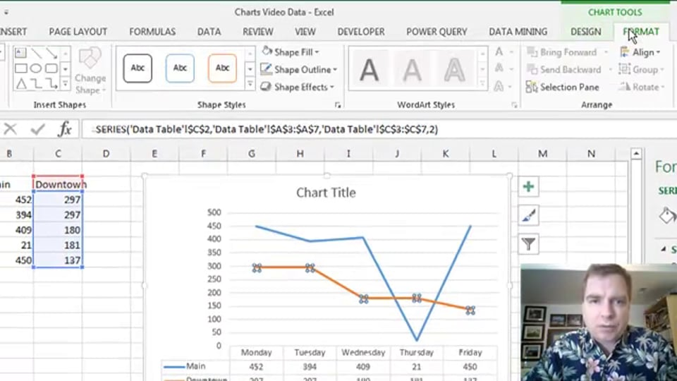 Excel Video 450 Data Tables
