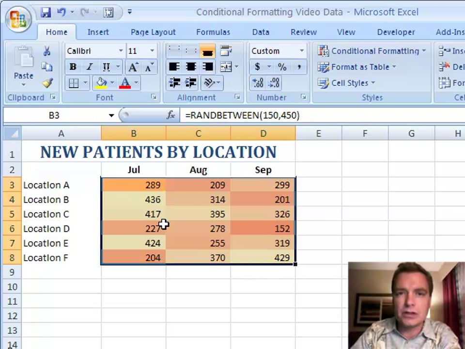 Excel Video 58 Manage Rules