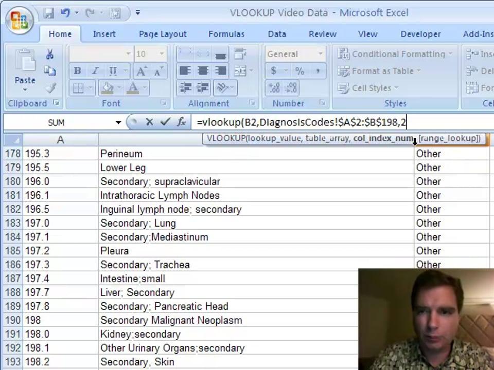 Excel Video 61 Introducing VLOOKUP