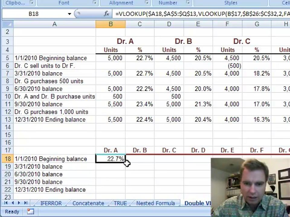 Excel Video 69 VLOOKUP x 2