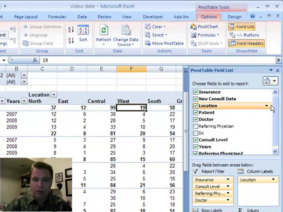 Excel Video 7 Multiple Rows and Columns in Pivot Tables