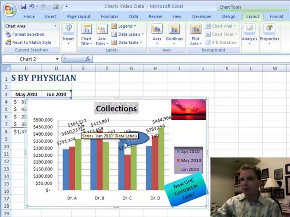 Excel Video 77 Data Labels
