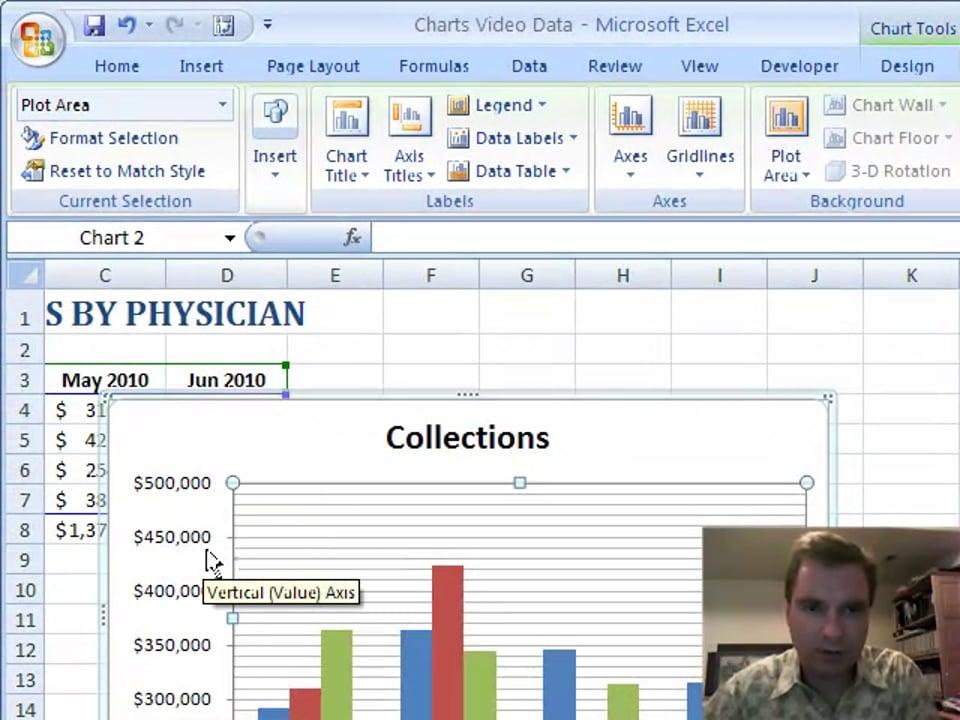 Excel Video 81 Gridlines