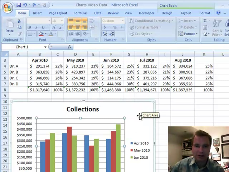 Excel Video 84 Adding Noncontiguous Data to a Chart